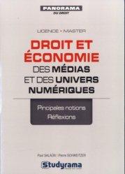 Droit et économie des médias et des univers numériques