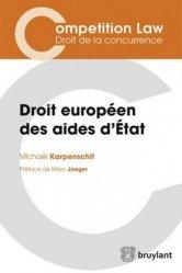 La couverture et les autres extraits de L'enquête de concurrence. Droit européen, 2e édition