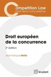 La couverture et les autres extraits de L'enquête de concurrence. Droit européen