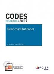 Droit constitutionnel. Edition 2019