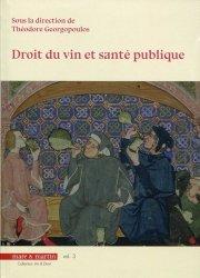 Droit du vin et santé publique