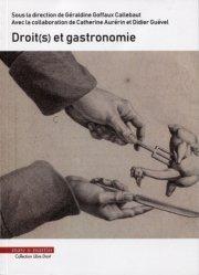 Droit(s) et gastronomie