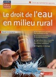 Droit de l'eau en milieu rural