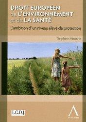 Droit européen de l'environnement et de la santé