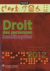 Droit des personnes handicapées 2012
