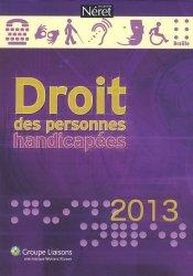 La couverture et les autres extraits de Droit des personnes handicapées 2014