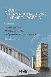 La couverture et les autres extraits de Droit international privé