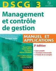 DSCG3 Management et contrôle de gestion