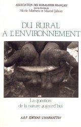 Du rural à l'environnement