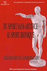 Du sport sans artifice au sport bionique