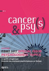 EBMT 2017 : special issue psychologists topic