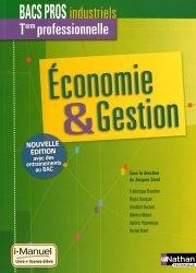 Economie & Gestion Tle professionnelle Bacs Pros industriels