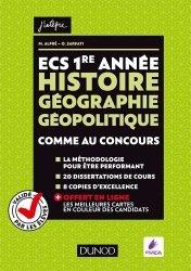 ECS 1re année Histoire Géographie Géopolitique