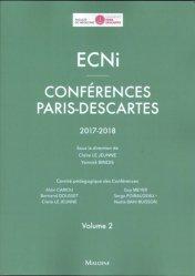 La couverture et les autres extraits de Annales ECNI 2016-2018