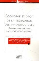 Economie et droit de la régulation des infrastructures. Perspectives des pays en voie de développement