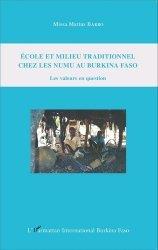 Ecole et milieu traditionnel chez les Numu au Burkina Faso