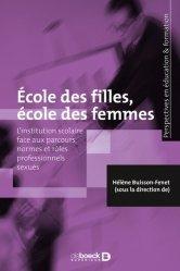 Ecole des filles, école des femmes
