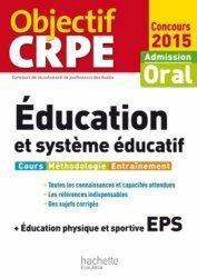 Education et système éducatif + éducation physique et sportive