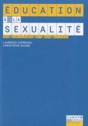 Education à la sexualité au collège et au lycée