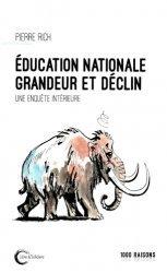 Education nationale : grandeur et déclin