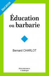 Education ou barbarie