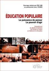 Education populaire : la puissance de penser, le pouvoir d'agir
