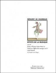 Effets de la Musique - Suivi de la Préface d'Étienne Sainte-