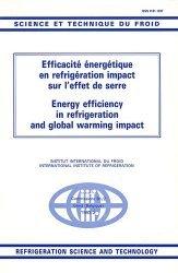 Efficacité énergétique en réfrigération impact sur l'effet de serre