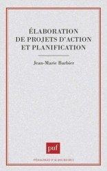 Elaboration de projets d'action et planification