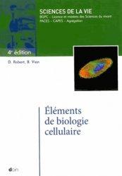 La couverture et les autres extraits de Biologie cellulaire