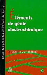 Eléments de génie électrochimique