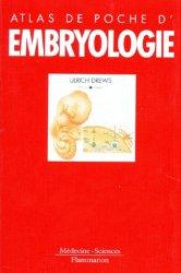 La couverture et les autres extraits de Atlas d'embryologie humaine de Netter