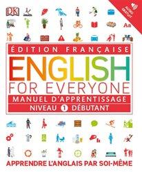 English for Everyone : Manuel d'apprentissage - Niveau 1 débutant