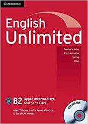 English Unlimited, Upper Intermediate - Teacher's Pack (Teacher's Book with DVD-ROM)