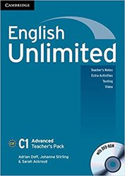 English Unlimited, Advanced - Teacher's Pack (Teacher's Book with DVD-ROM)