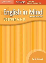 English in Mind Starter A and B - Combo Testmaker CD-ROM and Audio CD