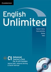 English Unlimited Advanced A and B - Teacher's Pack : Teacher's Book with DVD-ROM