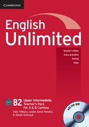 English Unlimited Upper Intermediate A and B - Teacher's Pack : Teacher's Book with DVD-ROM