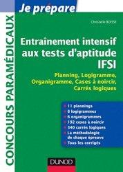 Entraînement intensif aux Tests d'aptitude IFSI