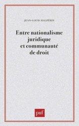 Entre nationalisme juridique et communauté de droit