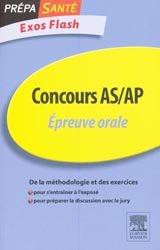 La couverture et les autres extraits de L'Épreuve orale AS-AP