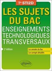 Enseignements technologiques transversaux - Terminale STI2D