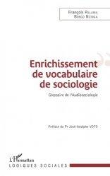 Enrichissement de vocabulaire de sociologie
