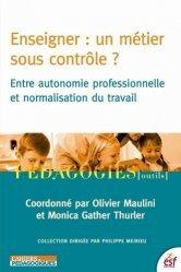 Enseigner : un métier sous contrôle