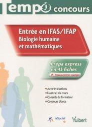 Entrée en IFAS / IFAP  Biologie humaine et mathématiques