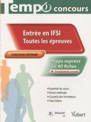 Entrée en IFSI  Toutes les épreuves