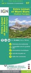 La couverture et les autres extraits de Les Arcs, La Plagne, Parc National de la Vanoise. 1/25 000, plastifiée-résistante