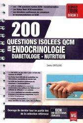 La couverture et les autres extraits de UE ECN en fiches Endocrinologie Diabétologie Nutrition
