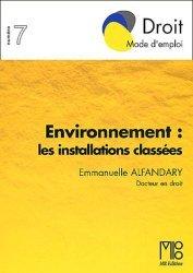 Environnement : les installations classées