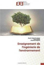 Enseignement de l'ingénierie de l'environnement